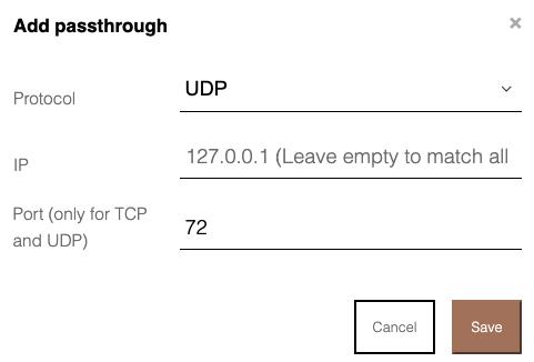 DNSpassthrough
