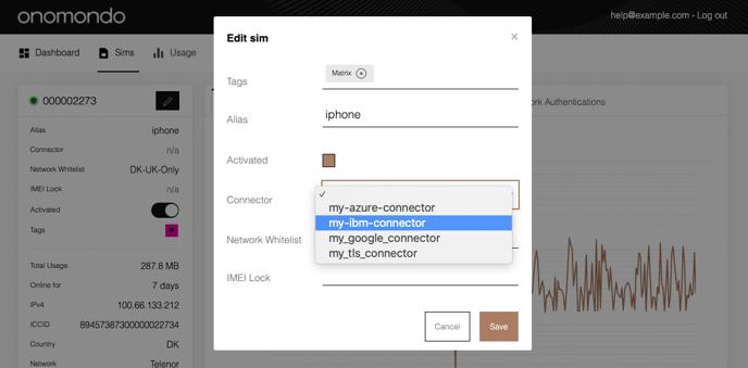add-ibm-connector